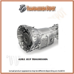 42RLE Jeep Transmission Stock Replacement