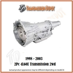 4L60E GM Transmission 2 Piece Stock 2WD (98-05)
