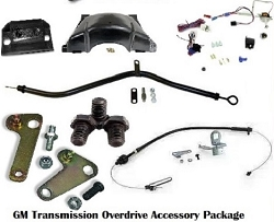 GM Transmission Conversion Accessory Package For 700R4 and 200-4R