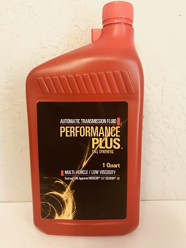 ATF Full Synthetic Transmission Fluid Single Quarts